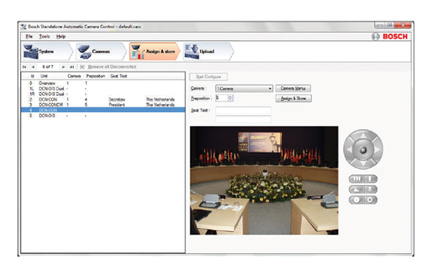 DCN-SWSACC 独立自动摄像机控制软件